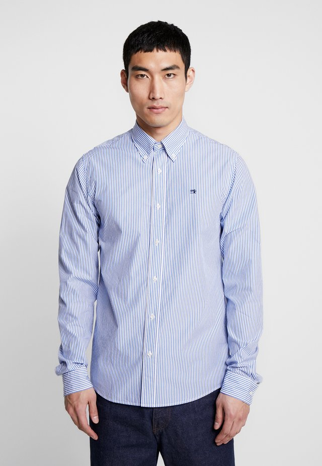 CRISPY REGULAR FIT BUTTON DOWN COLLAR - Camisa - off-white