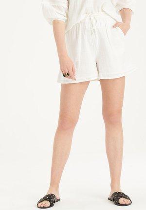 MAY SHORT - Shorts - white