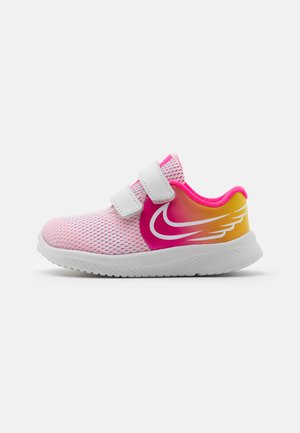 STAR RUNNER 2 SUN UNISEX - Zapatillas de running neutras - platinum tint/summit white/hyper pink