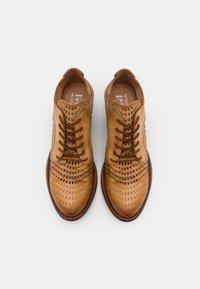 Felmini - DRESA - Lace-up heels - tan - 5