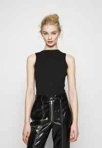 4th & Reckless - COVILLE BODYSUIT - Top - black - 0