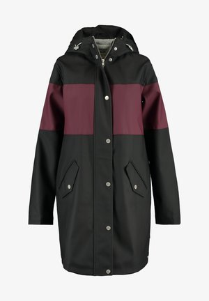 Parka - black/red
