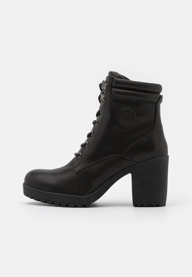LADIES BOOTS  - Stivaletti con plateau - black
