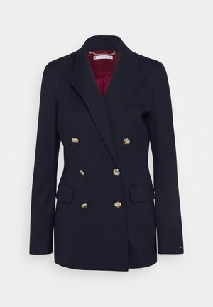 BLEND - Short coat - navy wool