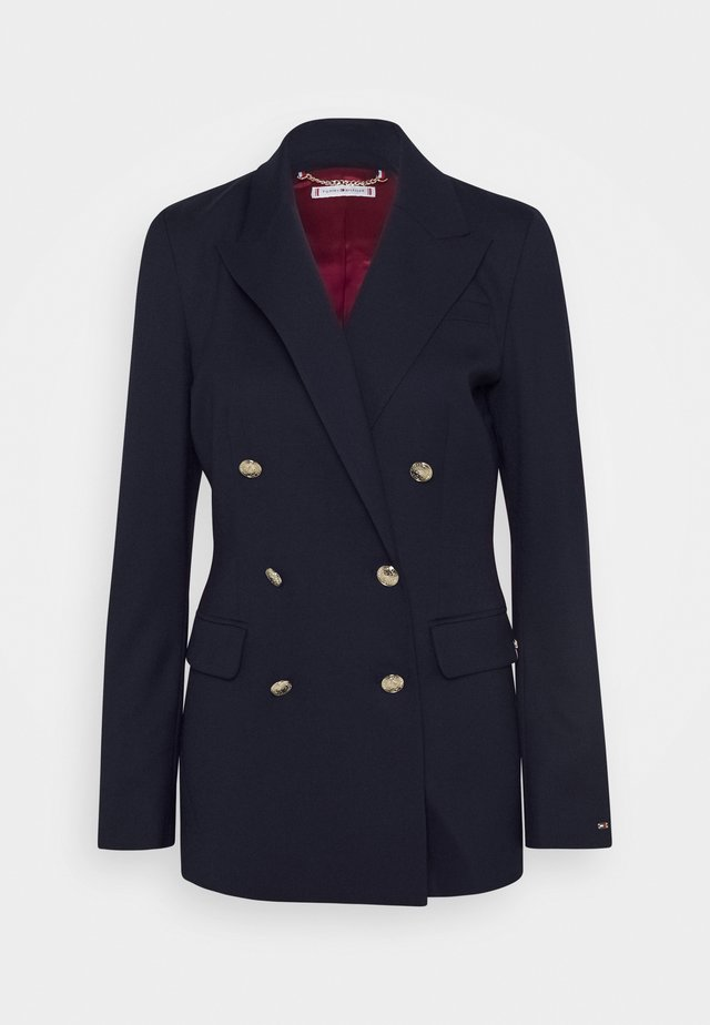 BLEND - Manteau court - navy wool