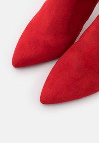 Buffalo - MARJORIE - High heeled boots - red - 5