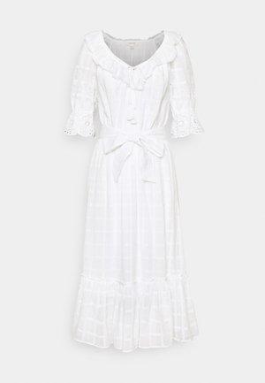 SLEEVE DRESS - Denní šaty - white