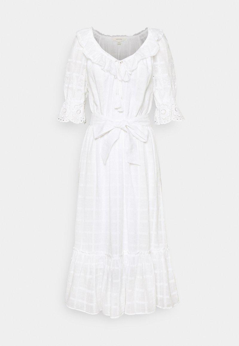 Marks & Spencer London - SLEEVE DRESS - Robe d'été - white