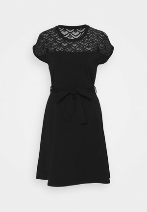 ONLBILLA DRESS - Jerseykjoler - black