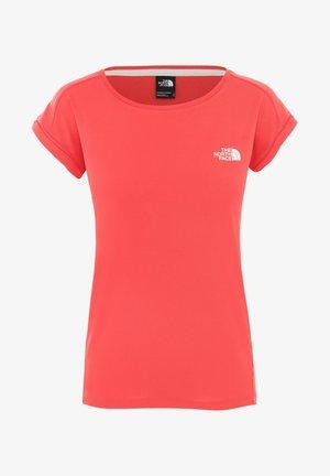 DAMEN - Basic T-shirt - rot