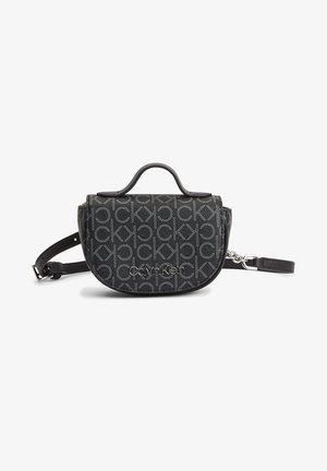Bum bag - black mono mix