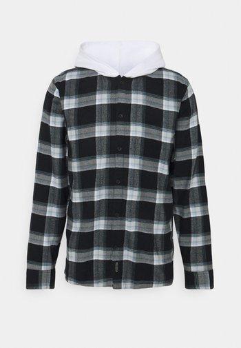 HOODS - Overhemd - black