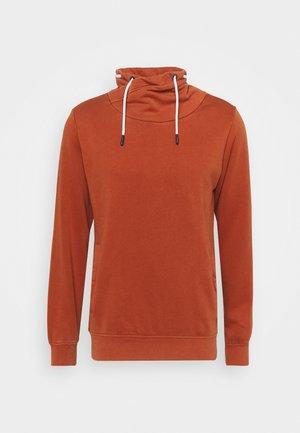 Sweatshirt - dark orang