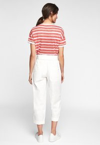 comma casual identity - Print T-shirt - red stripes - 2
