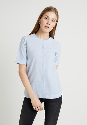 Blouse - clear blue
