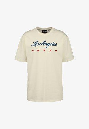 MLB LOS ANGELES DODGERS HERITAGE  - Print T-shirt - white