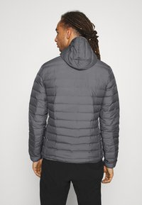 adidas Performance - VARILITE SOFT HOODED - Down jacket - dark grey - 2