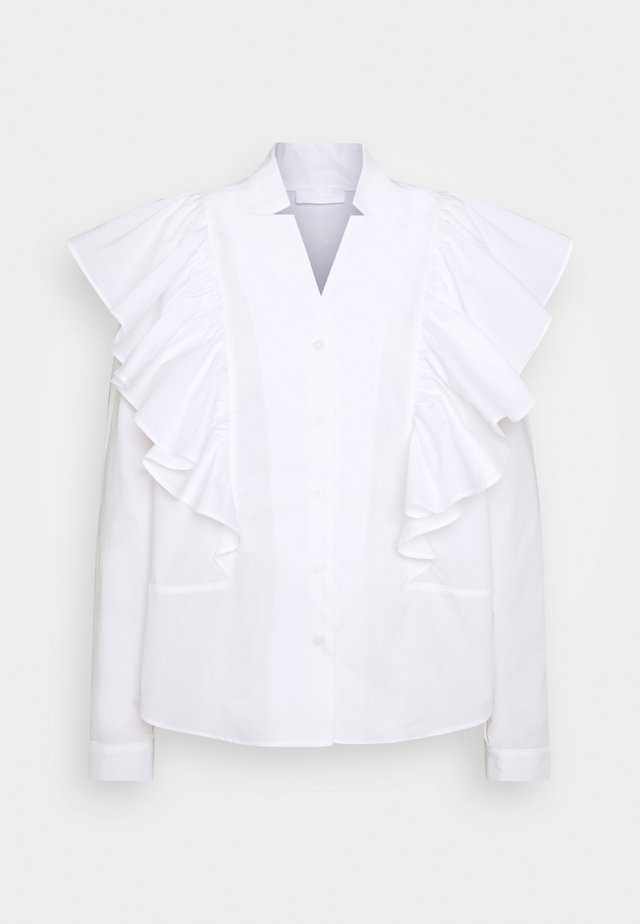 CARINA THINKTWICE - Blus - white