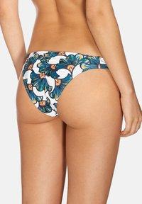 CIA MARÍTIMA - LALIQUE,DRAPED BAND - Bikini bottoms - white - 1