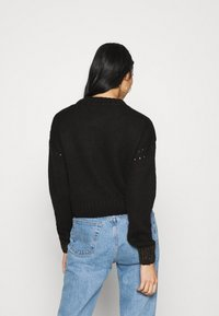 Scotch & Soda - WITH FLAME PATTERN - Jumper - black - 2