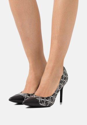 LINDELLA  - Classic heels - black/snow white