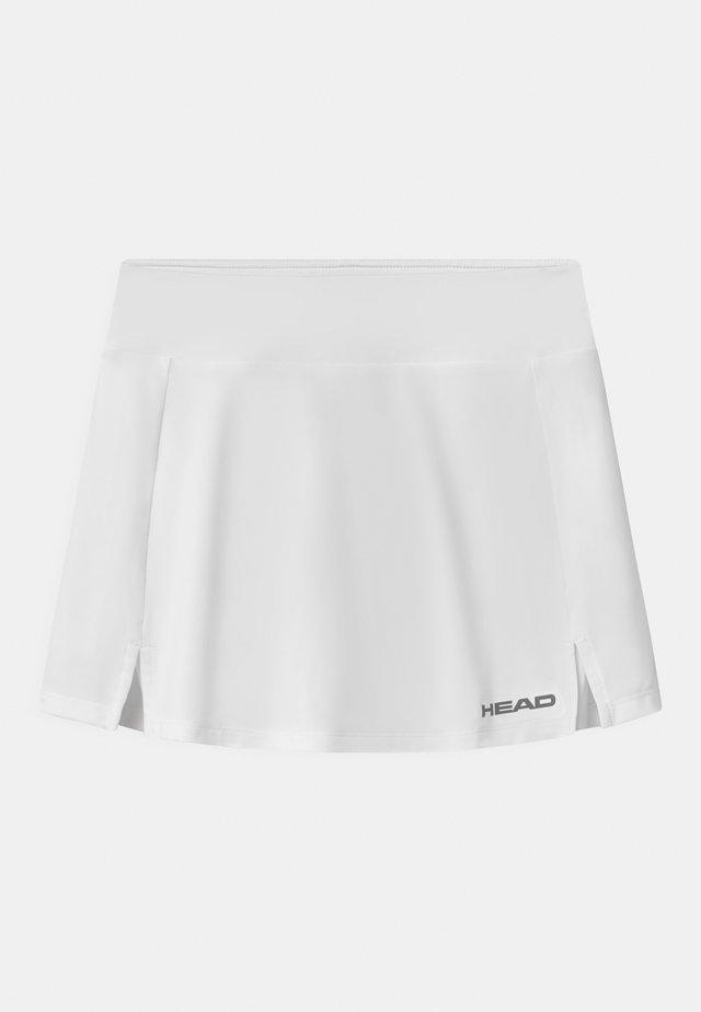 CLUB BASIC  - Sportovní sukně - white