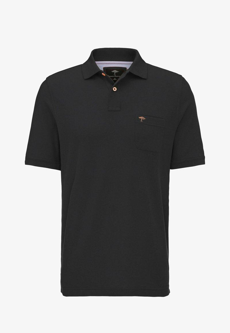 Fynch-Hatton - Polo shirt - black