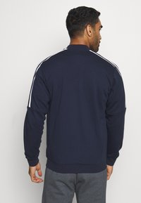 adidas Performance - 3 STRIPES SPORTSWEAR TRACK  - Bluza rozpinana - dark blue - 2