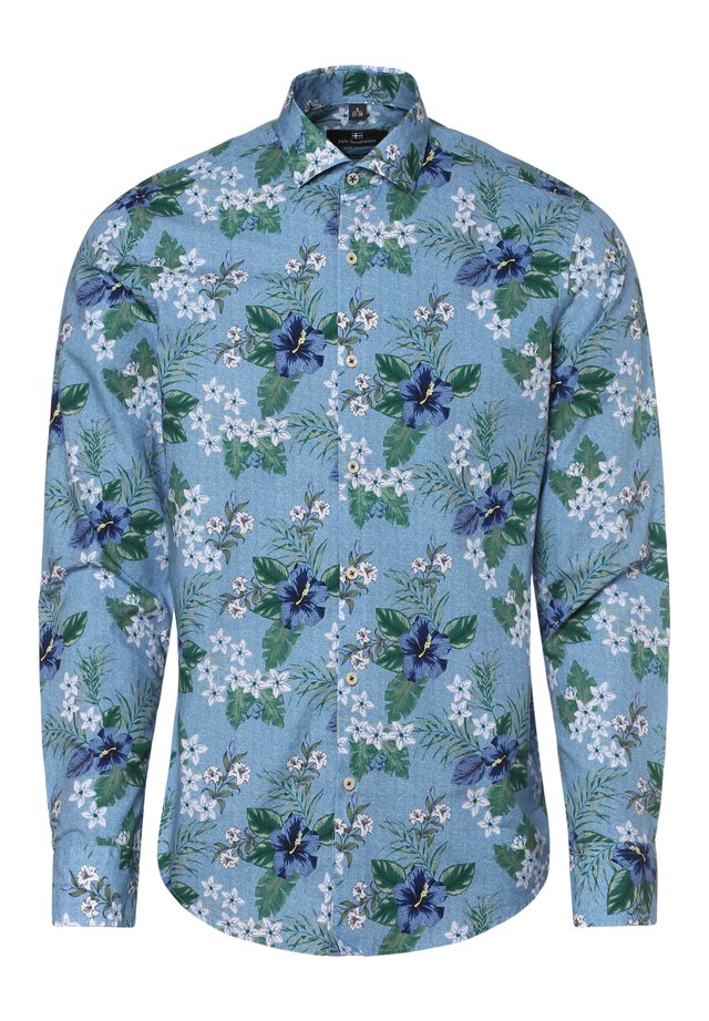 Shirt - blau grün