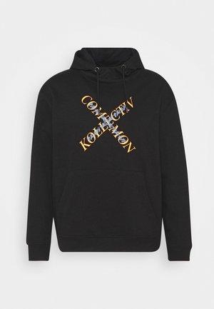 SLASH HOOD UNISEX - Sweatshirt - washed black