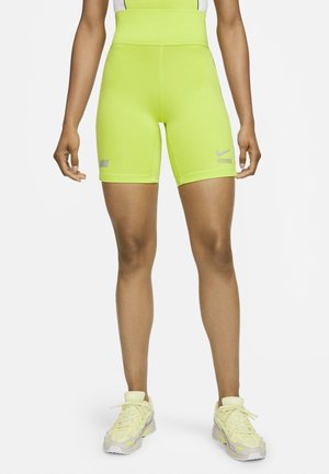 Sports shorts - cyber/white