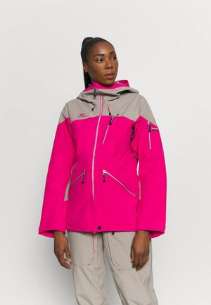 WOMENS BACKSIDE JACKET - Ski jacket - pink