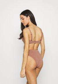 Seafolly - SEA DIVE HIGH RISE - Bikini bottoms - bronze - 2