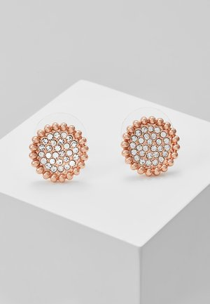 VERSAILLE SMALL COIN EAR - Earrings - rosegold-coloured