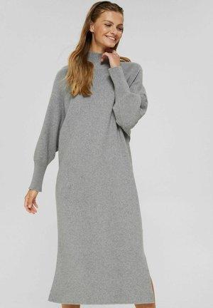 BATWING - Jumper dress - medium grey