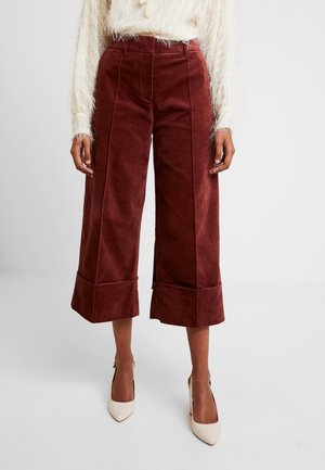 TO GO - Trousers - puce