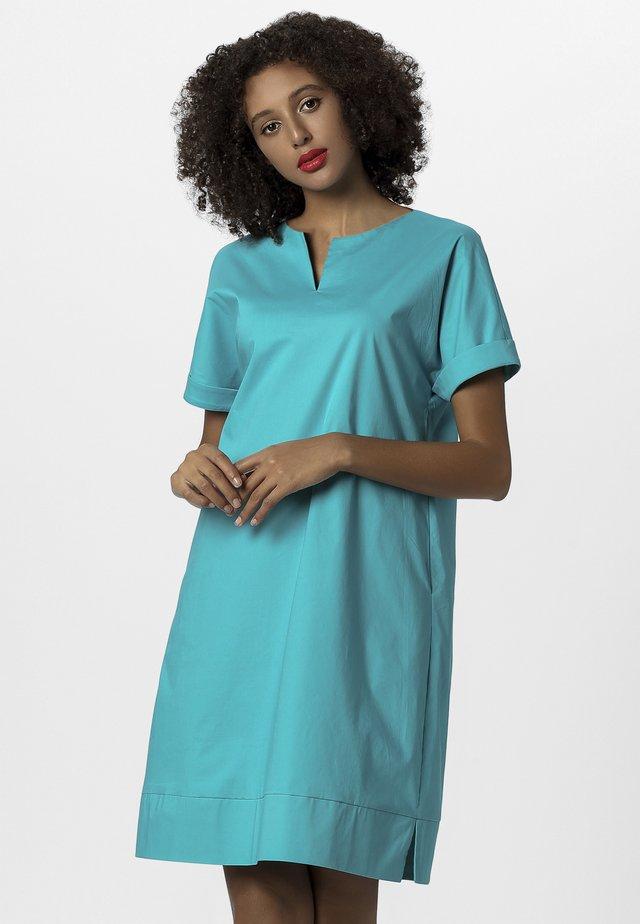 SOMMER - Korte jurk - turquoise