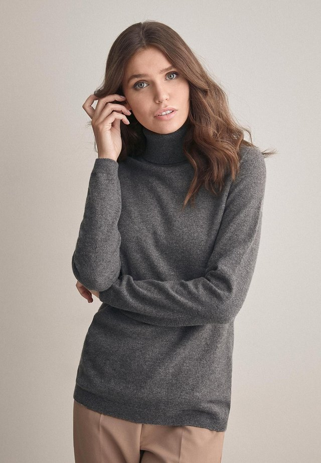 MIT LANGARM - Jumper - mottled grey