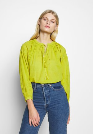 DAY ESPRESSO - Blouse - mustard yellow
