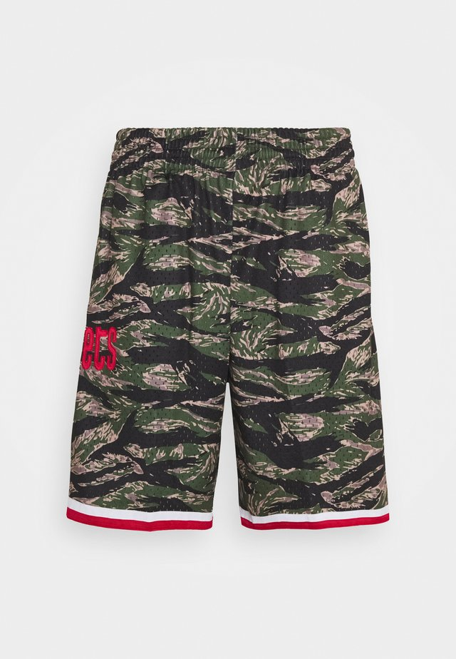 NBA HOUSTON ROCKETS TIGER CAMO SWINGMAN SHORT - Pantaloncini sportivi - multi coloured