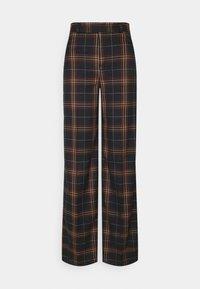 WIDE LEG - Kalhoty - navy