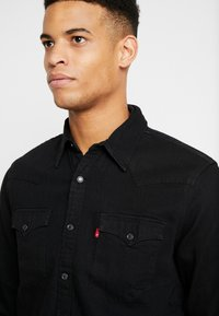 Levi's® - BARSTOW WESTERN STANDARD - Shirt - marble black denim rinse - 4