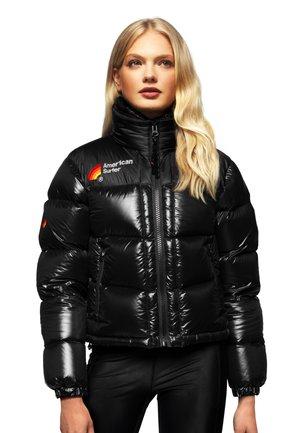 JACK1T X AMER1CAN SURFER  - Down jacket - black