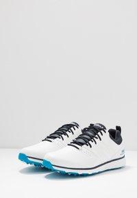 Skechers Performance - MOJO ELITE PUNCH SHOT - Golfsko - white/blue - 2