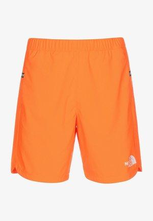 Pantalón corto de deporte - shocking orange