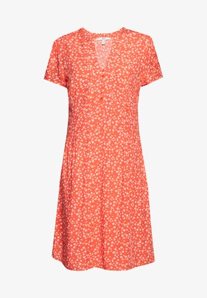 CORE FLUID - Day dress - coral