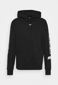 Nike Sportswear - REPEAT HOODIE  - Jersey con capucha - black/white - 6