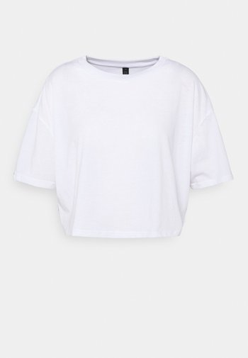 RELAXED ACTIVE - Print T-shirt - white