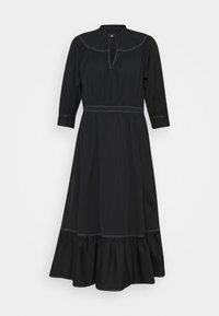 Polo Ralph Lauren - SHORT SLEEVE CASUAL DRESS - Vestido informal - polo black - 0