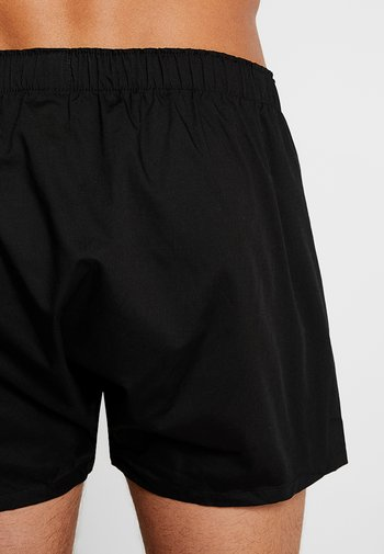 3 PACK - Boxer shorts - black